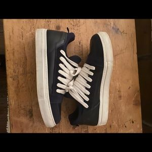 Kris Van Assche navy sneakers